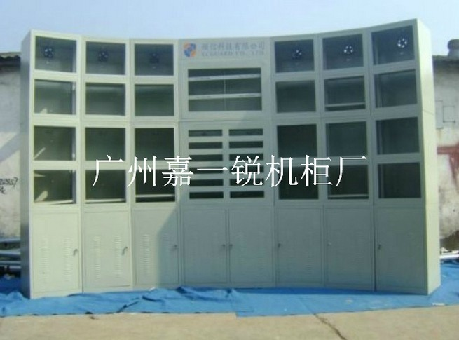 圆弧型电视墙